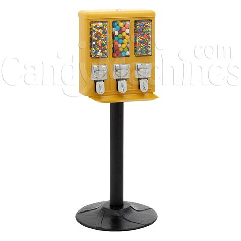 Buy Triple Shop Gumball and Candy Machine - Vending