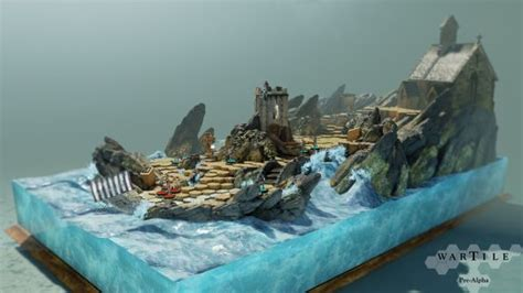 Making it in Unreal: reach into tiny viking dioramas with
