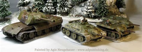 Agis Page of miniature painting and gaming - Panzer Prototypes